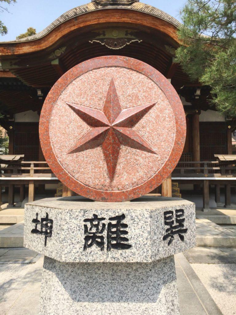 大将軍八神社 方位盤