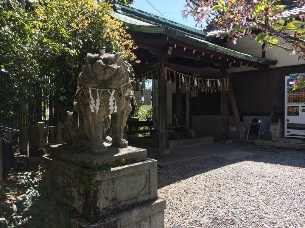 大石神社 狛犬